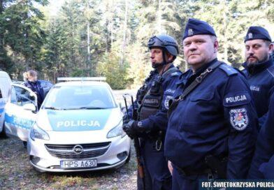 Dwaj mężczyźni napadli na sklep w Iwaniskach. Na wypadek sytuacji kryzysowej (zdjęcia)